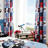 Catherine Lansfield Pirate Ship Eyelet Curtains 66 x 72-Inch