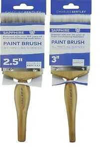 """Paint Brush All Surface All Paints 2.5"""" 3"""" Brush Wooden Handle Paint Brush"""