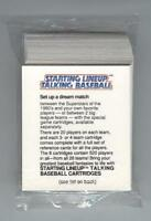 1988 STARTING LINEUP TALKING BASEBALL 40-CARDS (MINT) SHIPS FREE W/BIN*