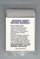 1988 STARTING LINEUP TALKING BASEBALL 40-CARDS (MINT) SHIPS FREE W/BIN*