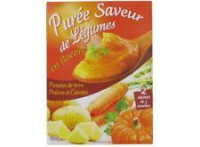 12 paquets Purée saveur (pommes de terre,potiron,carottes) 12x160gr  DLC LONGUE