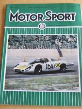 MOTOR SPORT MAGAZINE MAR 1968 NEW ZEALAND RACING ALAN MANN OPEL KADETT RALLYE C