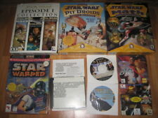 Lot of Star Wars Memorabilia:computer games, mags,books,poster,mouse pads,misc..
