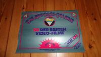 VPS  80er  Katalog Ersatzcover  Keine Glasbox VPS VMP VCL Movie Bitte lesen !