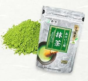 MORIHAN Uji Matcha Green Tea Powder Value Size 100g For Training made in Japan