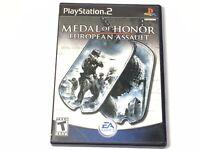 Medal Of Honor European Assault PS2 Playstation