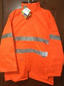Frontier Hi Vis Work Jacket 3 In 1 Size 4XL Orange Priced to clear RRP $100