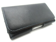 Real Genuine Leather belt pouch Case Cover Holder for apple iphone 8 7 /6s