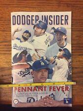 Los Angeles Dodgers 2016 Program