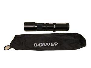 BOWER 500mm F8 Preset Telephoto Lens for Canon DSLR Camera
