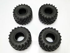 NEW TAMIYA BULLHEAD Tires Set of 4 SUPER CLODBUSTER CLOD BUSTER TD22