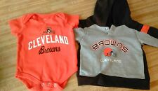 2 Pieces~ Baby Toddler ~ Onsie and Hoodie ~ EUC