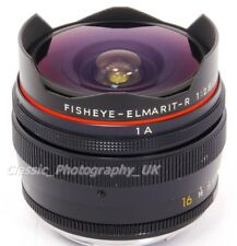 LEICA Fisheye-Elmarit-R 16mm F2.8 Lens by LEITZ Wetzlar 3-CAM for all R Models!