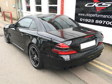 Mercedes AMG R230 SL Boot Trunk Lid Spoiler AMG Style