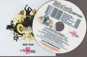 Sidekick Deep Fear Chic Flowerz Remixes Cd Promo Pochette Papier Papersleeve