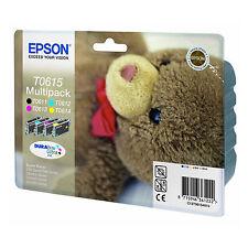 ORIGINALI EPSON T0615 BK C M Y PER Epson Stylus DX4850 DX3850 DX3800 DX4800