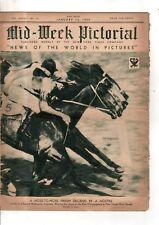 1934 NY Times Mid-week Pictorial January 13 - Babe Ruth,Ida Lupino; Greta Garbo