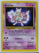 Mewtwo # 3 - NM / M - Black Star Promo Pokemon Card - $1 Combined Shipping
