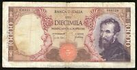 Repubblica Italiana - 10.000 / 10000 Lire Michelangelo 1966
