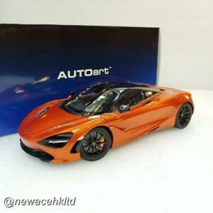McLaren 720S (Azores Orange) AUTOart MODEL 1/18 #76074