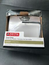 Delta Towel Ring -Lyndall Collection -Chrome Finish-Brand New