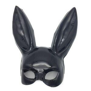 UK-Bondage Bunny Mask Sexy Masquerade Ball Party Adults Rabbit Ears Mask Cosplay