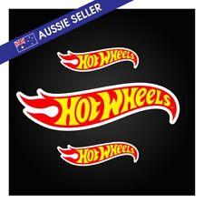 3 Pack - Hot Wheels Sticker Pack - 20cm and 10cm Display Treasure Super Hunt