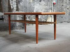 60er Danish Vintage Teak Coffee Table. Silkeborg Danish Design