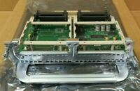 Cisco NM-HD-2V High Density Voice Fax Network Carrier Module For 2800 2900 3800
