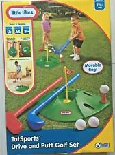 Little Tikes Totsports Drive And Putt Golf Set New