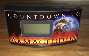 ARMAGEDDON (1998) ADVANCE PROMOTIONAL COUNT-DOWN DIGITAL CLOCK!