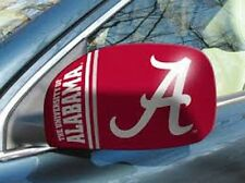 Alabama Crimson Tide Mirror Cover 2 Pack - Small [NEW] NCAA Auto Car CDG
