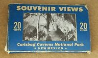 260#J-- Cards Post Souvenir Post Cards Carlsbad Caverns Vintage