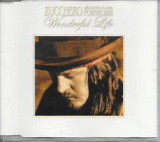 ZUCCHERO FORNACIARI - Wonderful life CD SINGLE 4TR EU PRINT 2007 ULTRA RARE!!