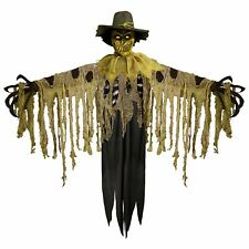 "Flaming Scarecrow, Animatronic Halloween Decoration, 51"" x 92"""
