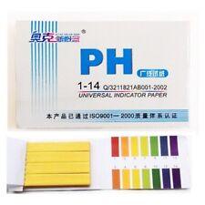 Litmus pH 1 to 14 Test Paper Book 80 Strips Universal Indicator