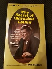 The Secret of Barnabas Collins by Marilyn Ross, Dark Shadows, pb first (1969)