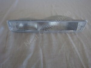 NOS OEM Buick Lesabre Bumper Parking Turn Signal Lamp 1990 - 91 Clear Left Hand