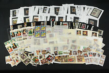 Dealer Stock WW Stamps, Blocks Pages Art Masters Paintings+ Russia, Dubai+ Mint+