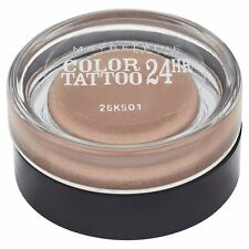 Maybelline Color Tattoo 24Hr Eye shadow Smooth Cream gel 35 on and on bronze new