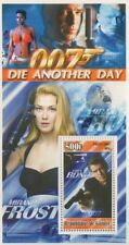 JAMES BOND 007 DIE ANOTHER DAY MOVIE GUINEE 2003 MNH STAMP SHEETLET