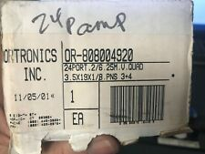 Ortronics 24 Port Patch Panels Or-808004920 Rj11 jacks (2 wire)