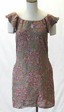 Nougat London Women's Floral Detail Off Should Sheath Dress GG8 Cactus NWT