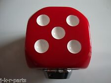 RED DICE SHIFT KNOB CAR TRUCK HOT ROD RAT ROD CUSTOM CLASSIC #70013