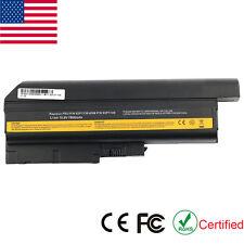 9 Cell Battery for IBM Lenovo Thinkpad T60 R500 T500 W500 SL300 SL400 40Y6797