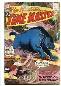 Rip Hunter Time Master #5 DC Silver Age Monster cover 1961