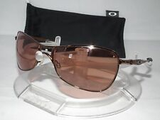 OAKLEY CROSSHAIR 1.0 AVIATOR SUNGLASSES BURNT COPPER / VR28 BLACK IRIDIUM