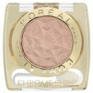 LOREAL COLOR APPEAL CHROME SHINE EYESHADOW #165 GOLDEN ROSE