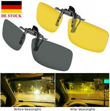 Polarisierte Sonnenschutz Brillen Aufsatz Sonnenbrille-Aufsatz Clip-on UV 400 DE