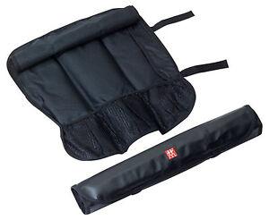 Zwilling Messertasche Rolltasche für Messer Küchenmesser 7 Fächer Messerkoffer